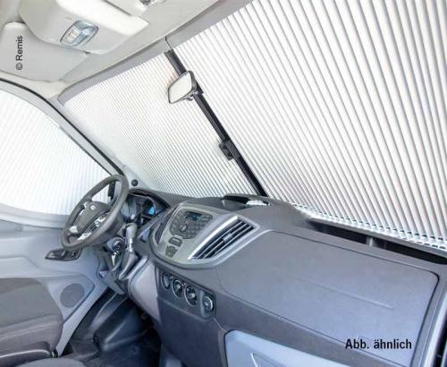 Купить онлайн Рулонная шторка переднего стекла REMIfront Ford Tansit 2019 без датчиков серая