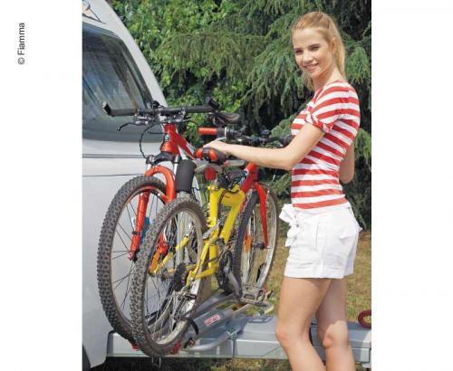 Купить онлайн Кронштейн дышла XL A, макс. 35 кг, для 2 велосипедов, синий вариант