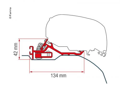 Купить онлайн Адаптерный тент F65L и F80S для Fiat Ducato, Peugeot Boxer, Citroën Jumper
