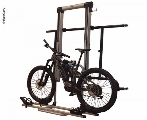 Купить онлайн Euro Carry держатель для велосипедов Fiat Ducato / Jumper / Peugeot Boxer от 07/2006, 3-е колеса