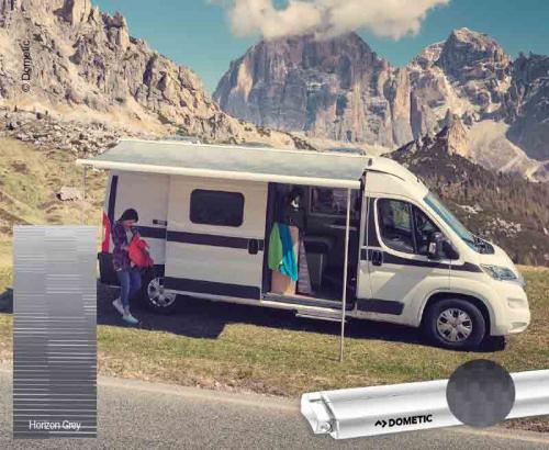 Купить онлайн PR 2000 выдвижной комплект 3.25 м VW Crafter, MAN TGE, корпус: антрацит