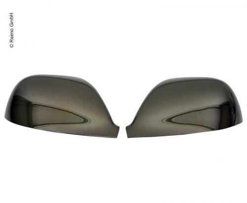 Купить онлайн Крышка зеркала хром черная для VW Transporter