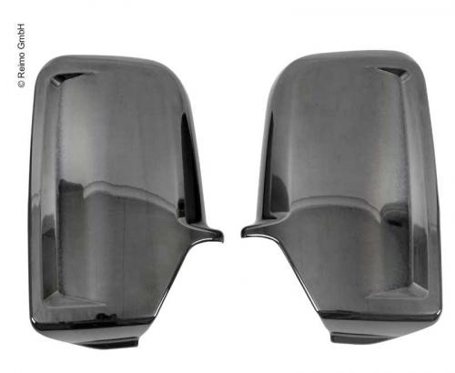 Купить онлайн Крышка зеркала хром черная для MB Sprinter / VW Crafter