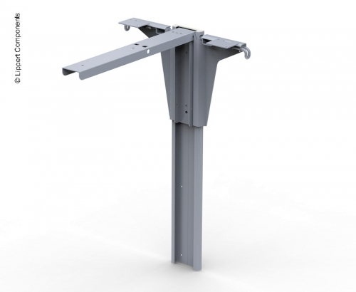 Купить онлайн Ножка стола телескопическая с функцией автоматического открывания, высота 721 мм