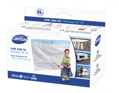 Купить онлайн Сумки для туалета для кемпинга, 12 штук с вкладышем