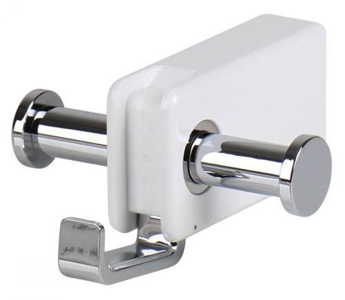 Купить онлайн Двойной круглый крючок, складной крючок, 8 х 9 см, белый