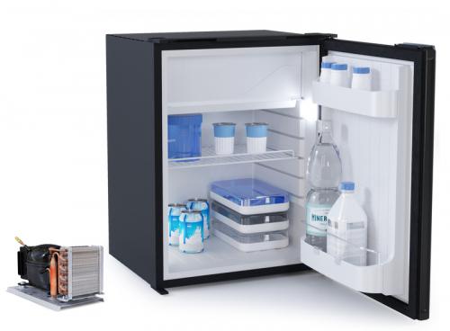 Купить онлайн Холодильник компрессора Vitrifrigo 75л + 10л, серый
