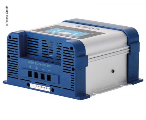 Купить онлайн Зарядное устройство 10А 12В 2 выхода 7-ступенчатый переключатель режимов Carbest