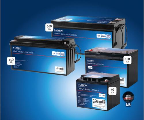 Купить онлайн Литий-железо-фосфатная батарея (LiFePO4), 150 Ач, Carbest