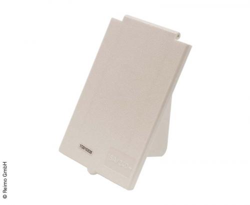 Купить онлайн Сменная крышка, белая, прямоугольная, для входной розетки CEE 821