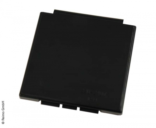 Купить онлайн Сменная крышка, черная, квадратная, для входной розетки CEE