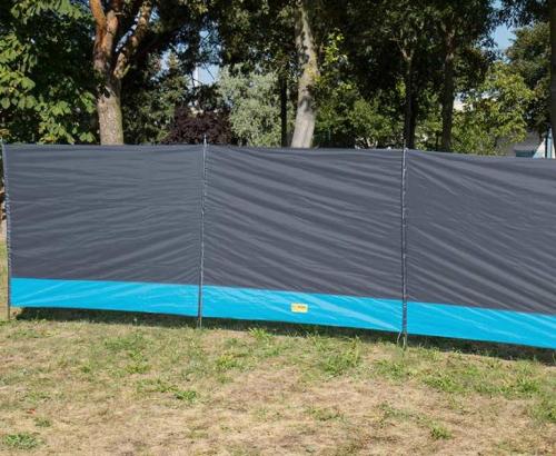 Купить онлайн Ветровка Sylt с 3 элементами, 500x140 см, серая