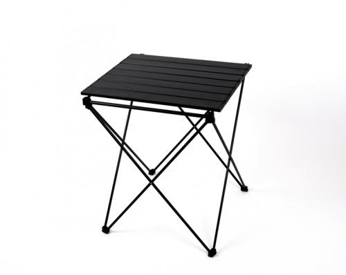 Купить онлайн Алюминиевый прокатный стол HUGO с сумкой и крючком 46x50x60см, черный