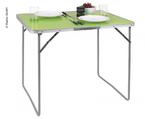 Купить онлайн Стол для кемпинга TWIGGY салатовый 80x69x60см, столешница МДФ