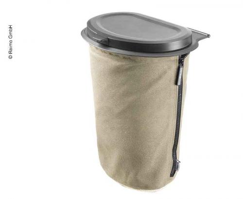 Купить онлайн Мусорное ведро Flextrash, 9 литров, кремово-бежевый