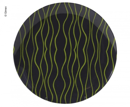 Купить онлайн Тарелка GIMEX, серо-салатовый