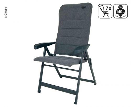 Купить онлайн Складное кресло для кемпинга, серая, мягкая, водоотталкивающая ткань