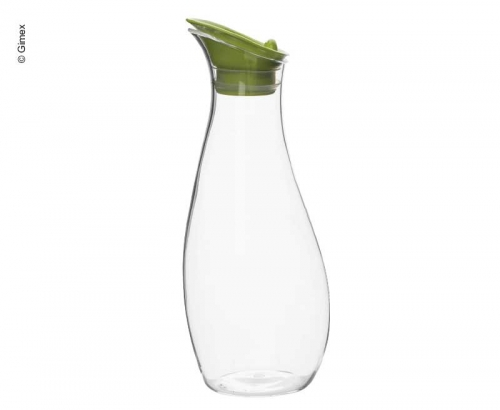 Купить онлайн Графин Gimex с откидной крышкой, салатовый, 1 литр, высота 26 см