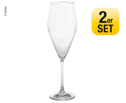 Купить онлайн Набор бокалов для шампанского 2 Gimex Ø5.2 / 637CM H21.2cm