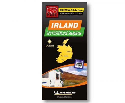 Купить онлайн Карта парковки Мишлен Ирландия - бесплатные парковочные места