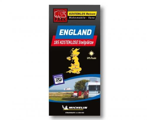 Купить онлайн Карта парковки Мишлен Англия - бесплатные парковочные места