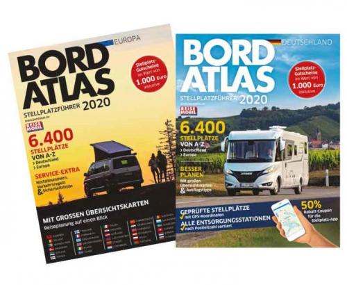 Купить онлайн Автодом на борту Atlas 2020