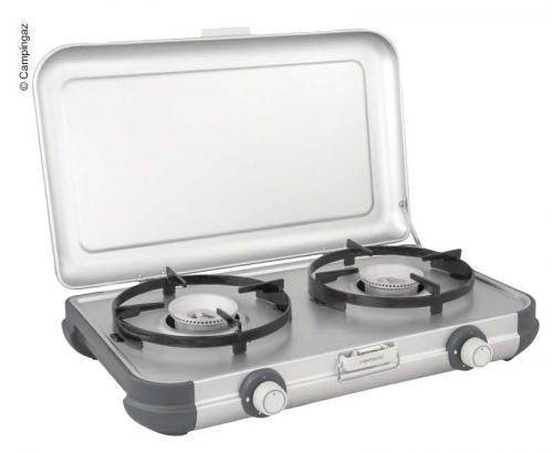 Купить онлайн Camping Kitchen 2 DE, с ручным зажиганием, включая шланг, 50 мбар