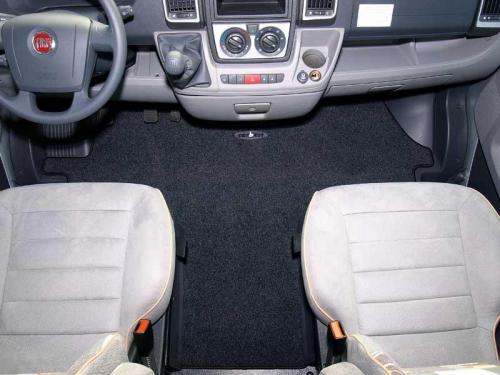 Купить онлайн Коврики для двери кабины для Fiat Ducato, Peugeot Boxer, Citroen Jumper