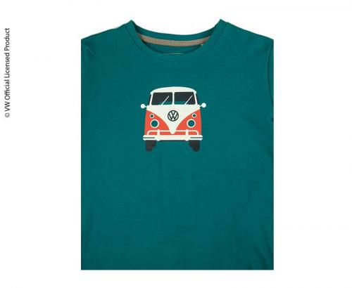 Купить онлайн Детская футболка унисекс, цвет бензин синий