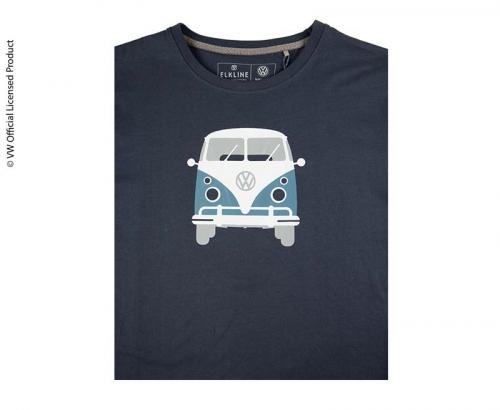 Купить онлайн Мужская футболка, цвет темно-синий