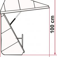 Купить онлайн Багажная коробка для велосипедной стойки - Ultra Box 360