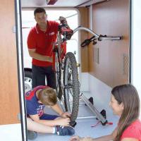 Купить онлайн Carry Bike Garage Standard для 2 велосипедов, макс. 3 колеса, макс. 50кг