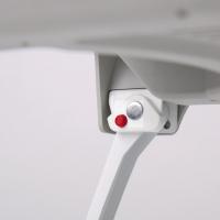 Купить онлайн Газовая плита с защитой от возгорания и откидными ножками