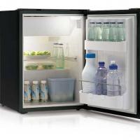 Купить онлайн Холодильник компрессора Vitrifrigo, 39л + 3,6л, серый
