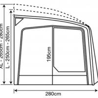Купить онлайн Автодом тентовый Eclipse Pro 380 л.