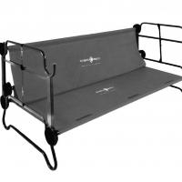Купить онлайн Двухъярусная кровать Disc-O-Bed L антрацит с боковыми карманами