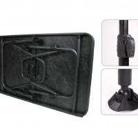 Купить онлайн Стол для кемпинга CALAIS STONE 115x70x55-74см, каркас: черный