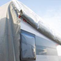 Купить онлайн Защитная крышка для каравана PREMIUM длиной 520-580 см, для ширины каравана до 230 см
